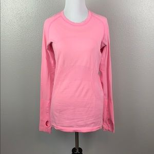 Ike new pink lululemon swifty size 8